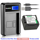 Kastar Battery LCD Charger for Panasonic VW-VBG130 & AG-HMR10 AG-HMC40 AG-HMC70