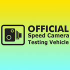 Speed Camera Test Vinyl Sticker Decal / Car / Window / JDM / DUB / VW / Funny