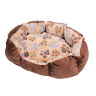 Pet Cat Bed Puppy Cushion House Pet Soft Warm Kennel Dog Mat Blanket House Cozy