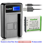 Kastar Battery LCD Charger for FUJIFILM NP-50 NP-50A & Fuji FinePix F50FD Camera