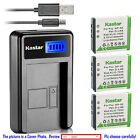 Kastar Battery LCD Charger for Fujifilm NP-50 NP-50A Fuji FinePix F70EXR Camera