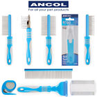 Ancol Ergo Dog Grooming Tool Detangle Moulting Mat Flea Tick Nit Comb Ergonomic