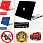 "Hard Case Shell for MacBook Air 13"" With Keyboard Cover Screen Protector Plastic"