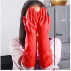 US Protect Hand Red Rubber Glove Latex Kitchen Long Dish Washing Cleaning