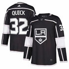 adidas Jonathan Quick Los Angeles Kings Black Authentic Player Jersey