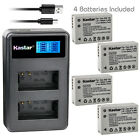 Kastar Battery LCD Dual Charger for Canon NB-10L CB-2LC Canon PowerShot SX60 HS