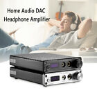 XMOS USB DAC Digital to Analog Converter HiFi Headphone Amp COAX OPT 384K DSD256