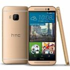 HTC One M9 32GB Gunmetal Gray/ Amber Gold Unlocked Smartphone z