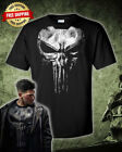 The Punisher Jon Bernthal Frank Castle Punisher Black T-Shirt
