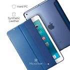 Apple Ipad 9.7 Case 2018 Hard PC Back Cover Smart Fold Soft Microfiber Interior
