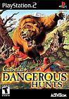 SONY PLAYSTATION 2 CABELA'S DANGEROUS HUNTS PS2 VIDEO GAME COMPLETE RATED T TEEN