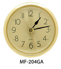 """NEW 2-7/16"""" Complete Clock Insert or Fit-Up Movement - Choose from 4 Styles!"""