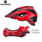 ROCKBROS Cycling Child Helmet Boy Sport Safety Motorcycle Removable Helmet  2in1