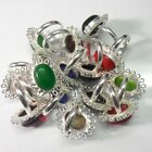 925 STERLING SILVER OVERLAY RING 10 PC CHRISMAS OFFER JEWELRY