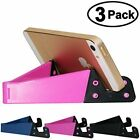 Cell Phone Stand | 3 Packs Pocket-sized Plastic V | CellPhone Desk Holder