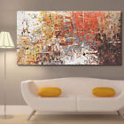 Внешний вид - Canvas Large Modern Home Wall Art Oil Painting Picture Print Unframed Home Decor