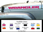 JEEP WRANGLER Vinyl Decal Sticker Emblem Logo Graphic pair YJ TJ Pair both sides