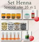 Set 16 in 1. Henna for eyebrows + cocount oil,  henna remover, oxidant