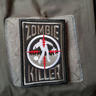 ZOMBLE KILLER 3D U.S. ARMY USA TACTICAL MORALE BADGE EMBROIDERED HOOK PATCH -02