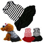 Pet Dog Puppy Clothes Summer Outfit Dress Shirt Small Doggy Cat T Shirt Apparels