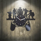 Game Vinyl Record Wall Clock Playststion Xmas Gift For Kids X-Box Gift For Boy