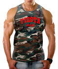 New Men's Red Fiesta Mexico Camo Tank Top Tequila Cinco De Mayo Party Dance V528