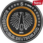 5 Euro Subtropische Zone 2018 Orange Polymerring Ring Stempelglanz A D F G J