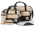 Maternity Bag Baby Diaper Bottle Holder Kit Mother Mommy Fashion Nappy Bags Sets