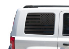 Flag Decal for Jeep Patriot - Window USA American Flag Star Merica 2011-2017 JP3