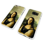 VIN DIESEL FUNNY MONA LISA WHITE PHONE CASE COVER fits iPHONE SAMSUNG