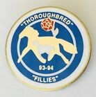 Thoroughbred Fillies Kentucky 1994 Authentic Pin Badge Rare Horse Racing (G3)