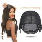 Lace Mesh Full Wig XL/L/M/S Weaving Hair Net Adjustable Wig Caps For Making Wigs