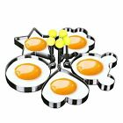 fried egg mould - 5 Pcs Fried Egg Non Stick Stainless Steel Pancake Mold Cooking Kitchen Tools Pop