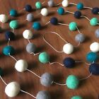 Felt Ball Garland - Kids Room & Nursery Decor -  Home Decoration Pom Pom Garland