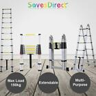 2M/3.2M/3.8M/4.1M/3.8M Telescopic Extendable Ladder Max Load 150Kg Brand New