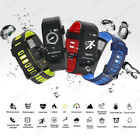 Smart Bracelet Wristband Watch Heart Rate Monitor Fitness Tracker Waterproof GPS
