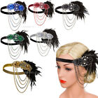 1920s 1930s Flapper Headband Party Accessories Great Gatsby 20s 30s Prom Dresses $12.34 USD on eBay