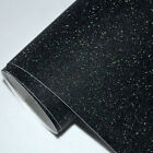 GLITTER BLACK matt Vinyl Wrap Sheet Car Vinyl Wrapping Air Bubble Free