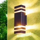 Dimmable/N 8W/10W LED Outdoor/Indoor Wall Lamp Fixture Up/Down Light E27 Bulb