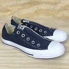 Converse Chuck Taylor All Star 1T156 Navy CT Slip On OX Unisex Fashion Sneakers