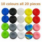 Pack of 10 Sets Pandaren Thumb Grip Caps for Ps2, Ps3, Ps4, Xbox 360, Xbox On...