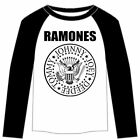 Ramones: Presidential Seal Raglan Tee  Free Shipping  Official  New
