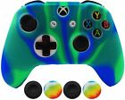 Hikfly Silicone Controller Cover Skin Protector Case Faceplates Kits for Xbox On