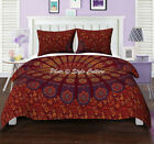 Ombre Mandala Duvet Indian Duvet Cover Cotton Doona Cover Cover Queen Bedspread