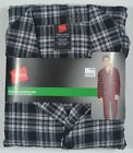 Внешний вид - Hanes #5310 NEW Men's Plaid 100% Cotton Flannel Pajama Set