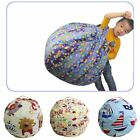 Kids Plush Toy Storage Extra Large Bag Stuffed Animal Storage Canvas Bean Bag