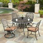 Home Styles Floral Blossom Patio Dining Set - Seats 4