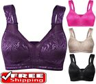Women's Full Coverage Non Padded Comfort Strap Minimizer Wire-Free Bra WingsLove