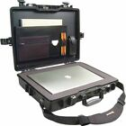 Pelican 1495 1495CC2 Computer Case with Foam and Lid Organizer-Black