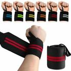 6 Colours Wrist Thumb Brace Wrap Support Guard Gym Exercise Weight Lifting Strap